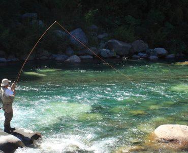 Pesca en lago y en ríos